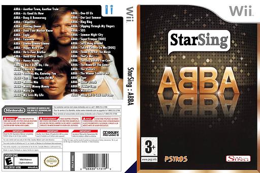StarSing:ABBA v1.1 CUSTOM cover (CSKP00)