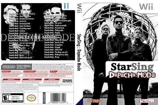StarSing:Depeche Mode v2.0 CUSTOM cover (CSTP00)