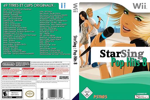 StarSing:Pop Hits 8 v2.0 CUSTOM cover (CSUP00)
