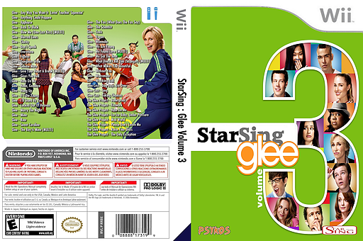 StarSing : Glee Volume 3 v1.0 CUSTOM cover (CTBP00)