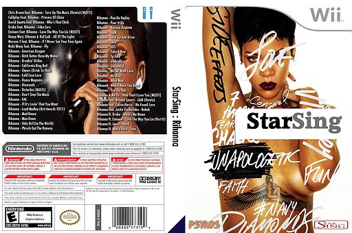 StarSing:Rihanna v2.0 CUSTOM cover (CTUP00)