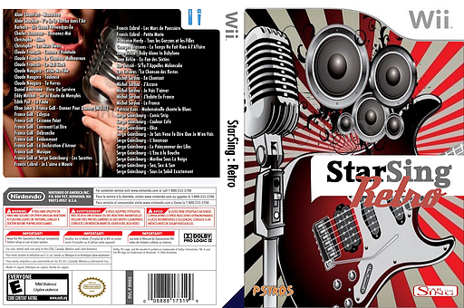 StarSing : Retro Volume 1 v1.0 CUSTOM cover (CTXP00)
