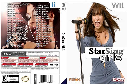 StarSing:Girls v1.0 CUSTOM cover (CU1P00)