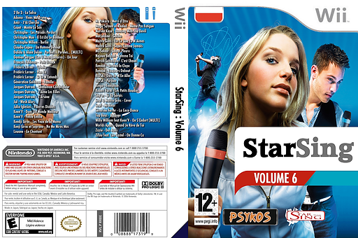 StarSing : Volume 6 v1.0 CUSTOM cover (CU8P00)