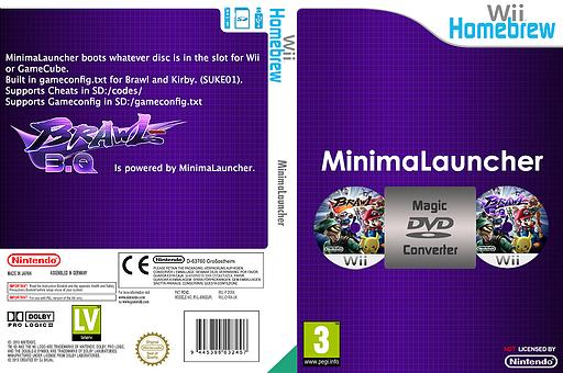 MinimaLauncher Homebrew cover (D1RA)