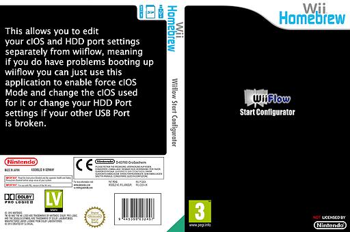 WiiFlow Start Configurator Homebrew cover (D2EA)