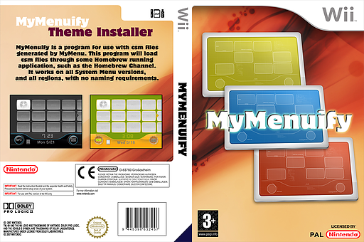 MyMenuify Homebrew cover (DMMA)