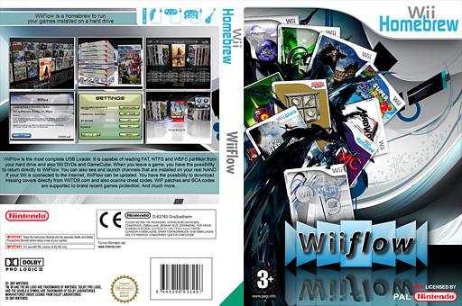 WiiFlow Homebrew cover (DWFA)