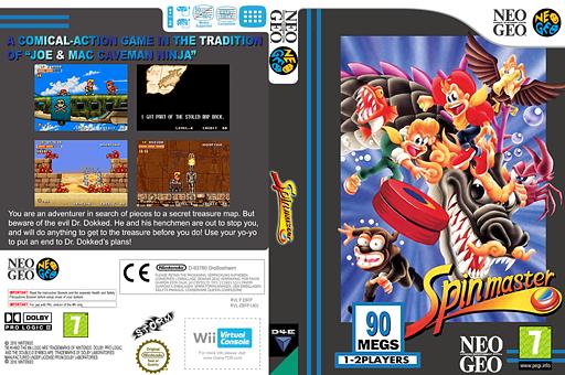 Spin master VC-NEOGEO cover (EBFP)