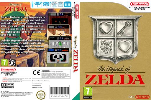 The Legend of Zelda VC-NES cover (FAKP)