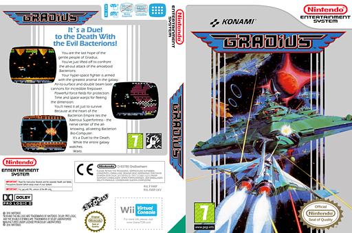 Gradius VC-NES cover (FARP)