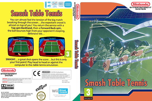 Smash Table Tennis VC-NES cover (FBAL)