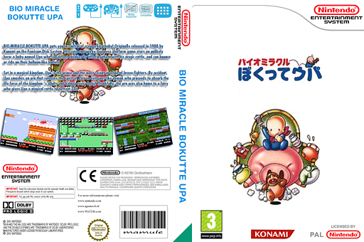 Bio Miracle Bokutte UPA VC-NES cover (FEML)