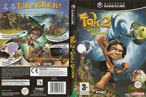 Tak 2: The Staff of Dreams GameCube cover (G2FP78)