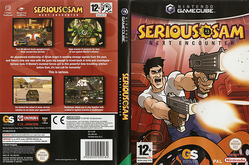 Serious Sam: Next Encounter GameCube cover (G3BP9G)