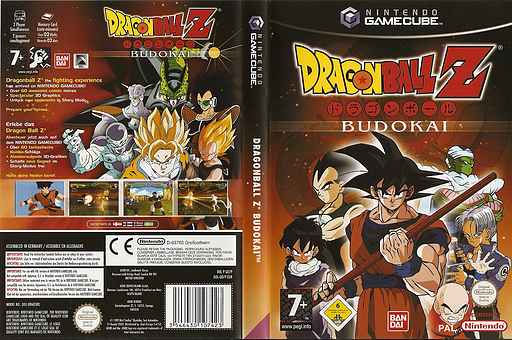 Dragon Ball Z: Budokai GameCube cover (GD7PB2)