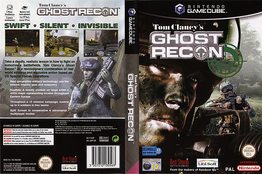 Tom Clancy's Ghost Recon GameCube cover (GGRP41)