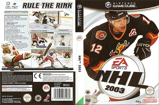 NHL 2003 GameCube cover (GH3P69)