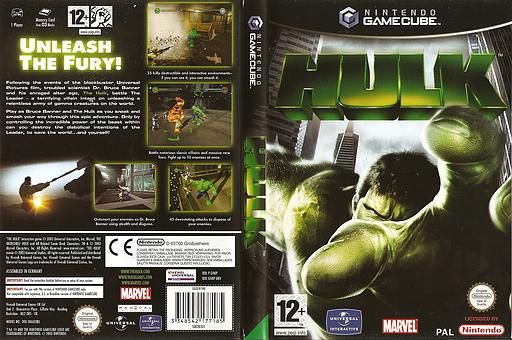 Hulk GameCube cover (GHKP7D)