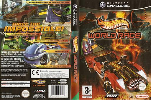 Hot Wheels: World Race GameCube cover (GHRP78)