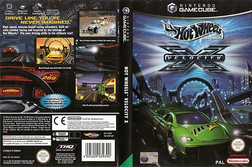Hot Wheels: Velocity X GameCube cover (GHWP78)
