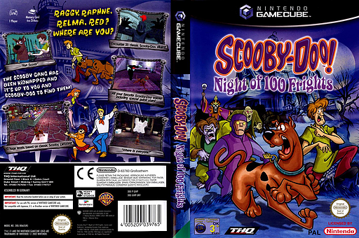 Scooby-Doo!  Night of 100 Frights GameCube cover (GIHP78)