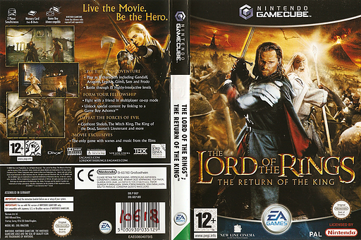 The Lord of the Rings: The Return of the King GameCube cover (GKLP69)