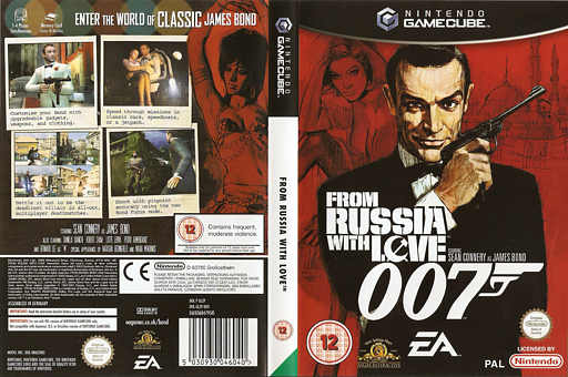 James Bond 007: From Russia With Love GameCube cover (GLZP69)