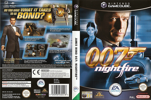 James Bond 007: NightFire GameCube cover (GO7P69)
