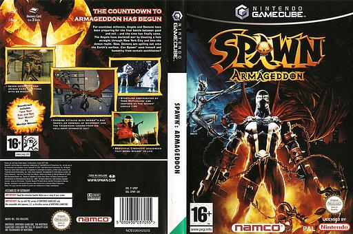 Spawn: Armageddon GameCube cover (GPWP69)