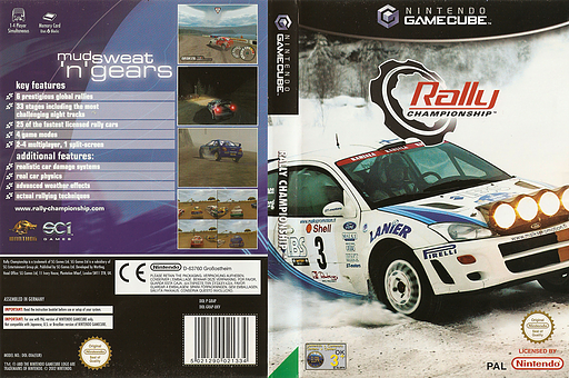 Rally Championship GameCube cover (GRAP75)
