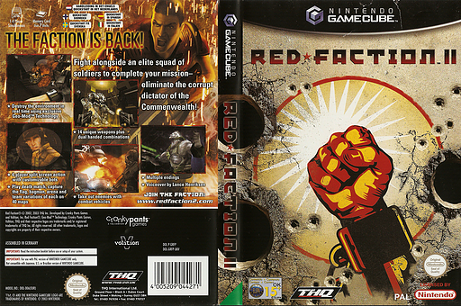 Red Faction II GameCube cover (GRFP78)