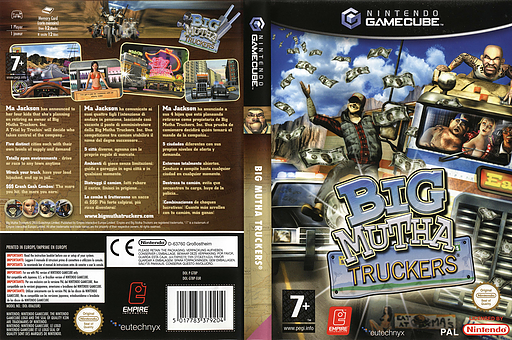 Big Mutha Truckers GameCube cover (GT8P7N)