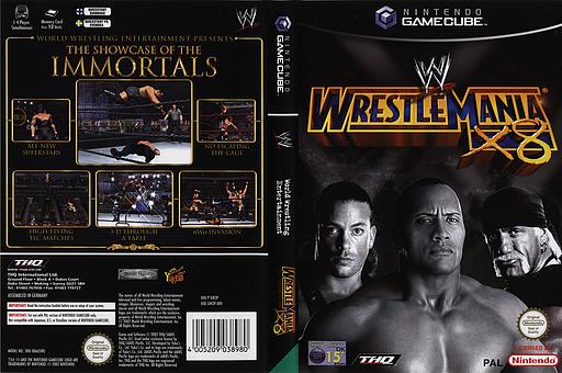 WWE Wrestlemania X8 GameCube cover (GW3P78)