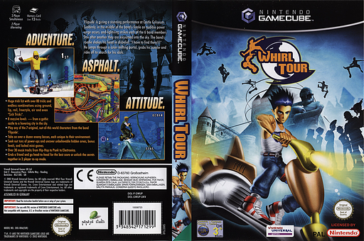 Whirl Tour GameCube cover (GWUP7D)