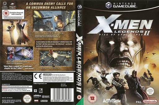 X-Men Legends II: Rise of Apocalypse GameCube cover (GX2P52)