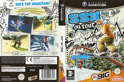 SSX On Tour GameCube cover (GXOP69)