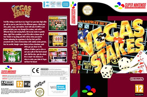 Vegas Stakes VC-SNES cover (JBRP)