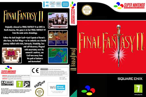 Final Fantasy 2 VC-SNES cover (JC8P)
