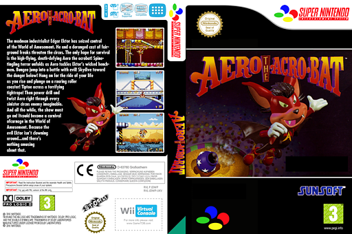 Aero The Acrobat VC-SNES cover (JDWP)