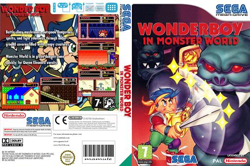 Wonder Boy In Monster World VC-MD cover (MAVP)