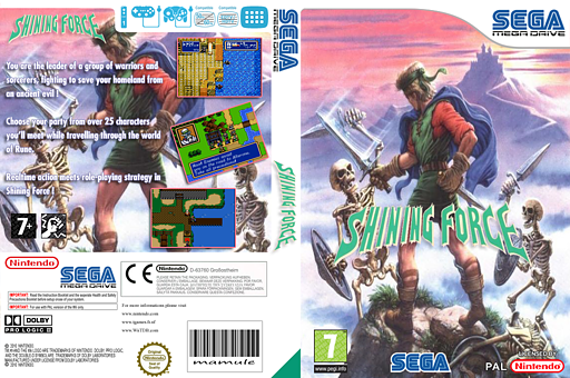 Shining Force VC-MD cover (MBEP)