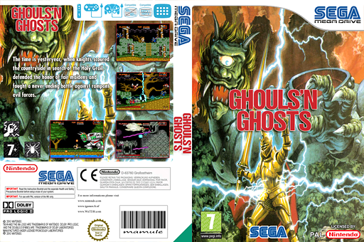 Ghouls'n Ghosts VC-MD cover (MBJP)