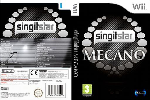 SingItStar Mecano CUSTOM cover (MECPSI)