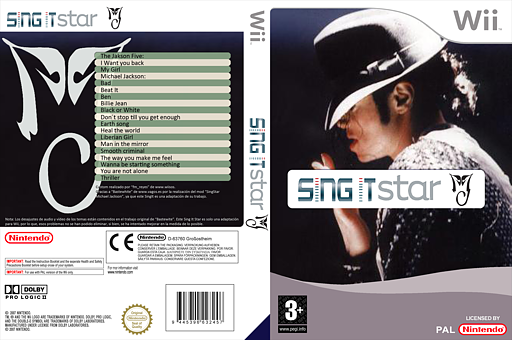 SingItStar Michael Jackson CUSTOM cover (MIJPSI)