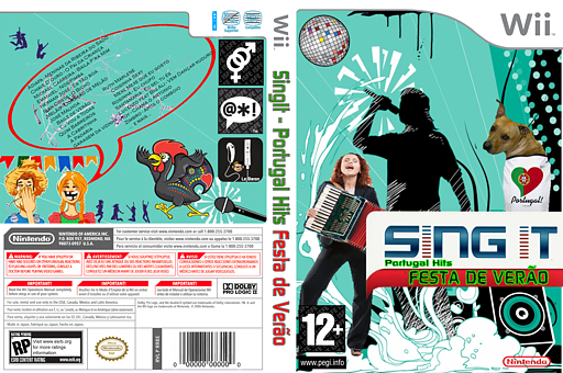 SingIt Portugal Hits Summer Party CUSTOM cover (PT2PSI)