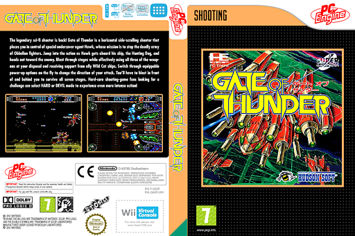 Gate of Thunder VC-PCE cover (QAGP)