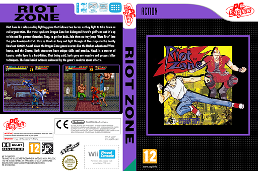 Riot Zone VC-PCE cover (QATP)