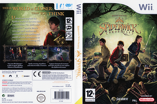 The Spiderwick Chronicles Wii cover (R48P7D)
