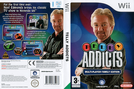 Telly Addicts Wii cover (RBCP41)